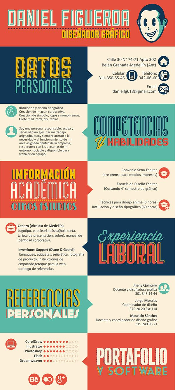 10 best curriculum vitae images on Pinterest | Behance, Behavior and ...