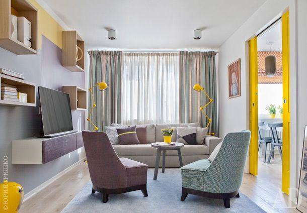 Квартира в Москве, 73 м²