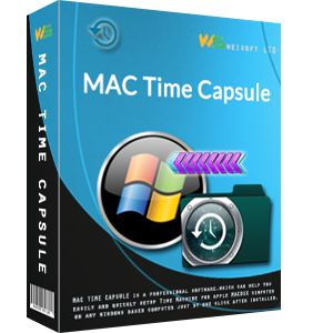 Use Mac Time Capsule, you can easily backup Mac to PC and Mac to Windows based PC