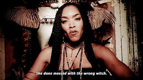 She done messed with the wrong witch. American Horror Story Coven #gif