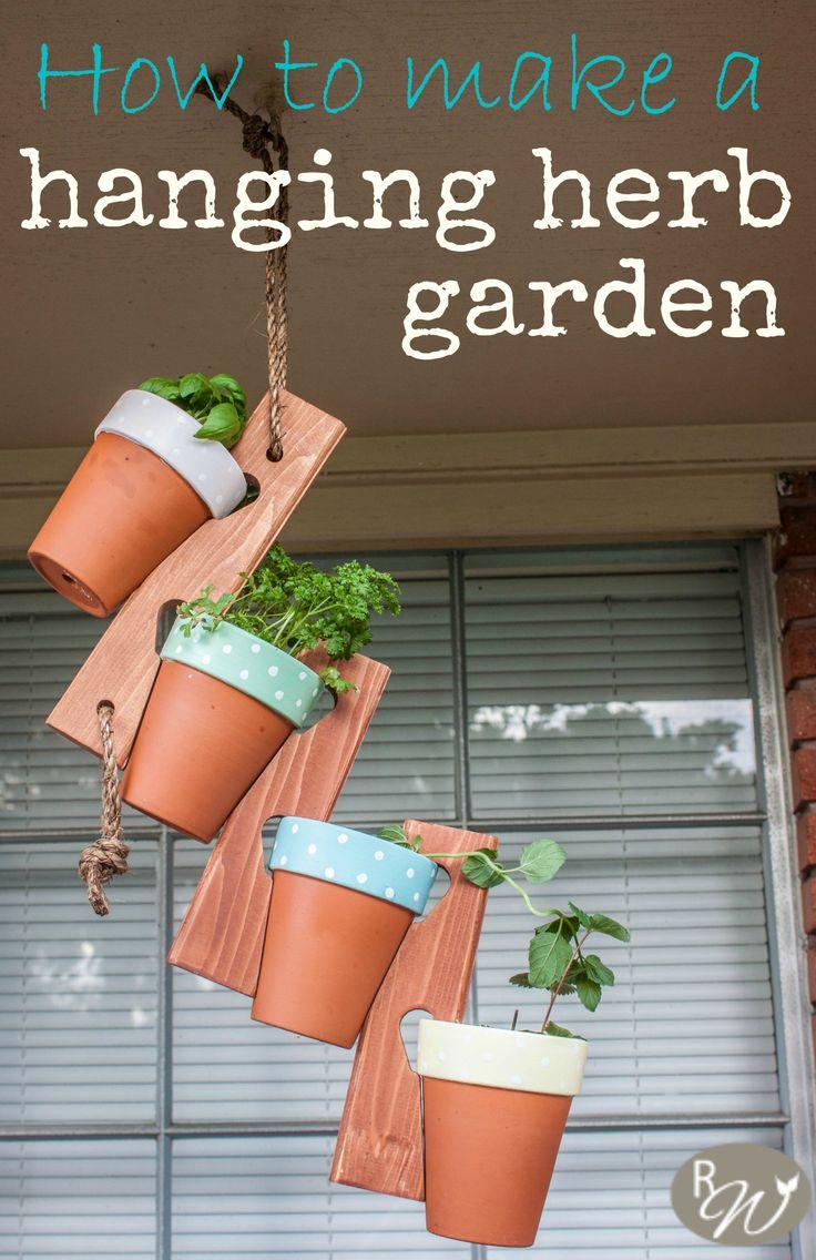 1000 Ideas About Hanging Herbs On Pinterest Kitchen