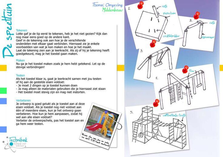 speeltuin1 Meer kaarten voor techniek? ga naar meester Tim op www.taakkaarten.nl