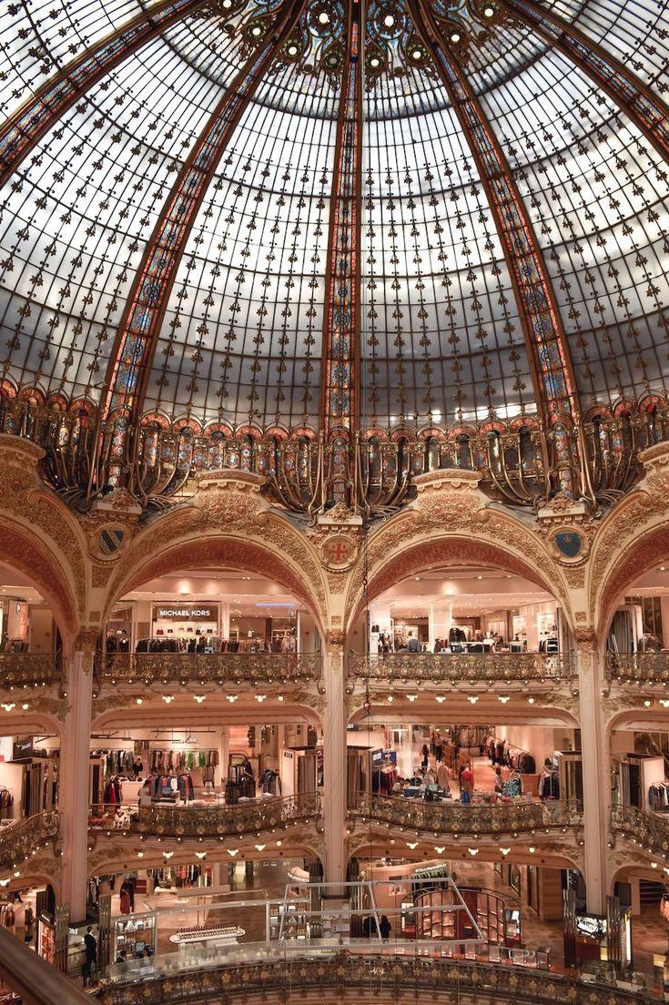 Galeries Lafayette Interior Paris
