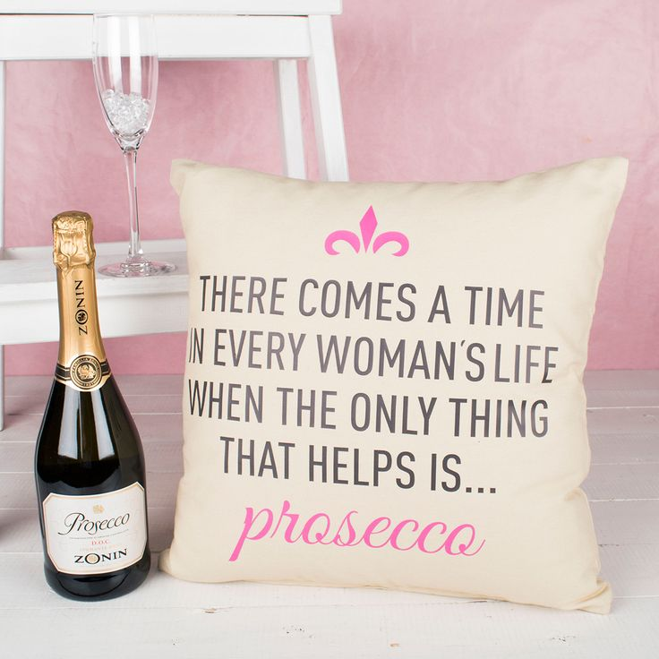 Personalised Natural Cushion - There Comes a Time | GettingPersonal.co.uk
