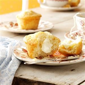 """Grandma's Honey Muffins Recipe -I can remember my Grandma Wheeler making these delicious muffins—we'd eat them nice and warm, fresh from the oven! She was a """"pinch of this"""" and """"handful of that"""" kind of cook, so getting the ingredient amounts correct for the recipe was a challenge. Now it's a family treasure! —Darlis A. Wilfer, West Bend, Wisconsin"""