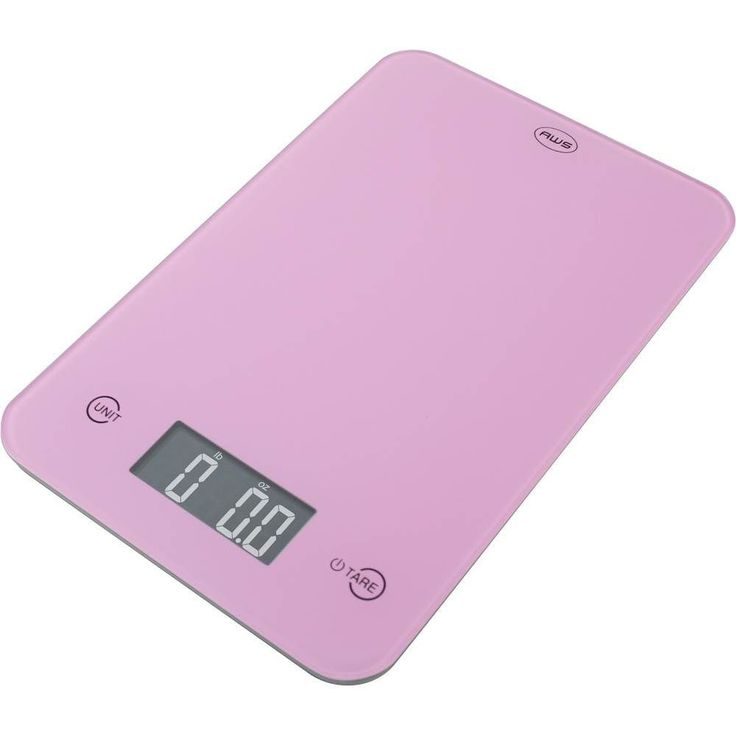 American Weigh Scales - Onyx Digital Kitchen Scale - Pink