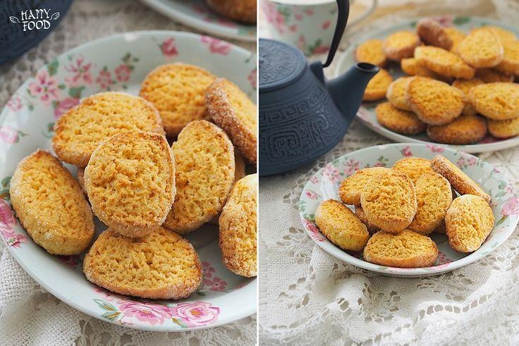 Formentini della garfagnana o gialetti - Кукурузное печенье с цитрусом - HAPPYFOOD