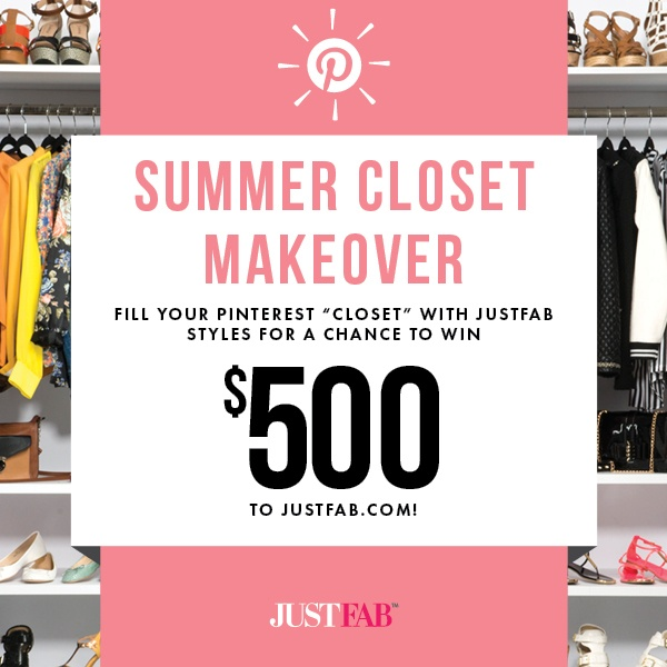 Repin this pin & styles you love from our Summer Closet Makeover board for a chance to win! Details here: http://www.facebook.com/justfab/app_137377669785610?ref=ts
