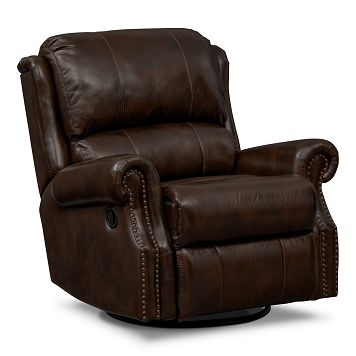Wexford Leather Rocker Recliner Value City Furniture