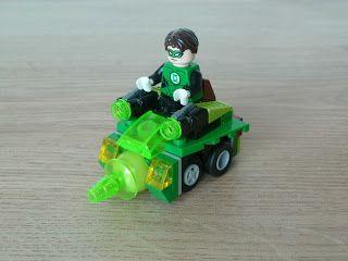 Totobricks: LEGO DC COMICS SUPER HEROES MIGHTY MICROS MOC Instrutions Green Lantern http://www.totobricks.com/2016/03/lego-dc-comics-super-heroes-mighty.html