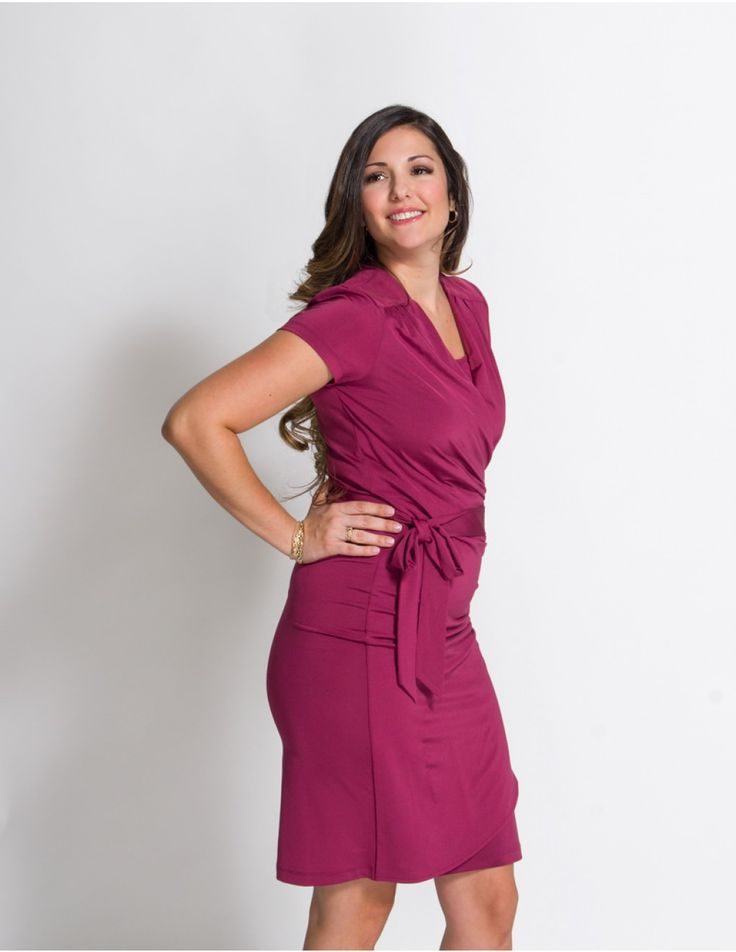 Momzelle Nursing Dress Serena is a stylish nursing dress designed for special occasions of a breastfeeding mom. Available in three beautiful colors!