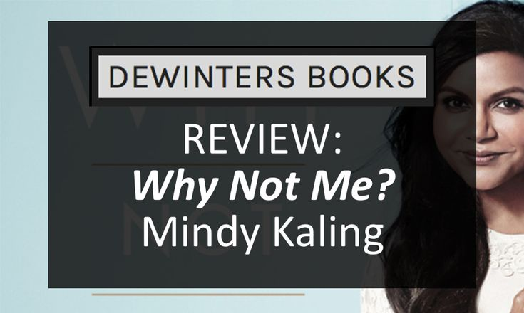 "Giving us a peek into her life, Mindy Kaling graced us with another series of hilarious essays with ""Why Not Me?"" #BookReview"