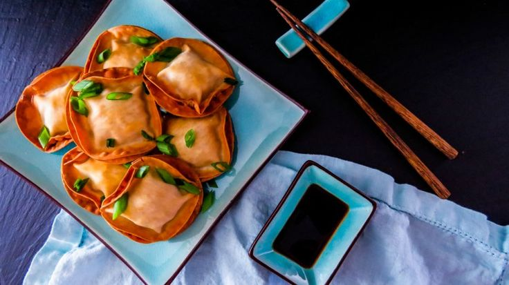 "I love crab rangoon. So often they are the ""free gift"" you receive after making a minimum order at your favorite Chinese take out. Personally though I could just eat a meal of these myself! My waistline would protest against me on that decision however...."