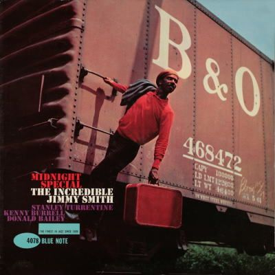 BLUE NOTE BLP 4078 Midnight Special/Jimmy Smith