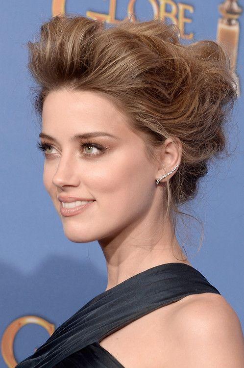 Amber Heard @ 2014 Golden Globes