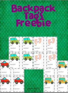 FREE backpack tags - HOW WE GO HOME