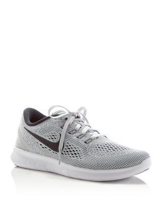 2016 $110 Nike Free Run Natural Lace Up Sneakers   Bloomingdale's