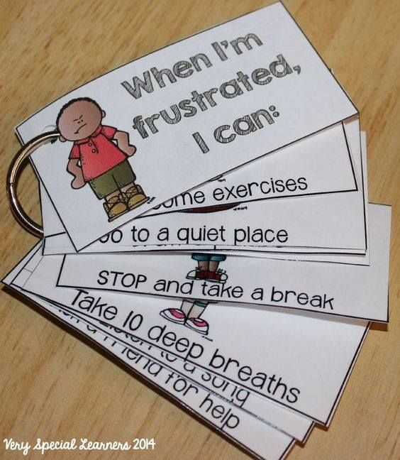 How to deal with frustration options for kids
