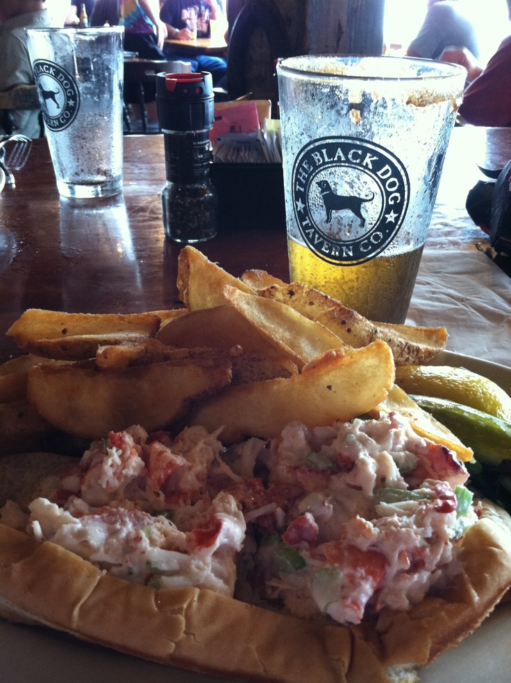 Black Dog, Martha's Vineyard...gotta get the lobster roll!