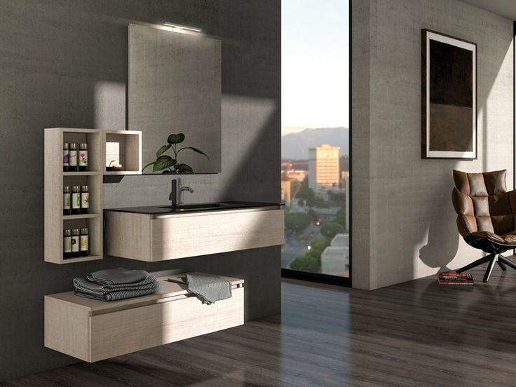 ber ideen zu waschtischunterschrank holz auf pinterest rahmen bade zimmer spiegel. Black Bedroom Furniture Sets. Home Design Ideas