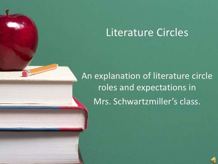 TCH505 Literature Circles Slideshare by Heather via slideshare
