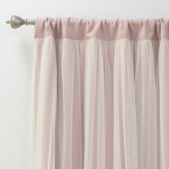 Harborcreek Solid Blackout Thermal Rod Pocket Curtains Curtains