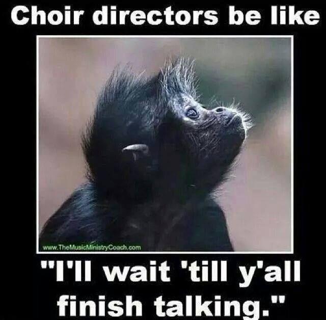 Can I get an AMEN?!? #musiceducation #choir #choirhumor