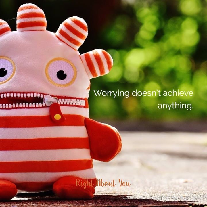 If youre wasting time because youre afraid to pursue an idea speak up or are worried what others will think of you you wont achieve your goals. If you push through the worry and the fear however and take action youll almost always find that you were worried about nothing. #achieve #achievement #stopworrying #worrying http://www.rightaboutyou.com/