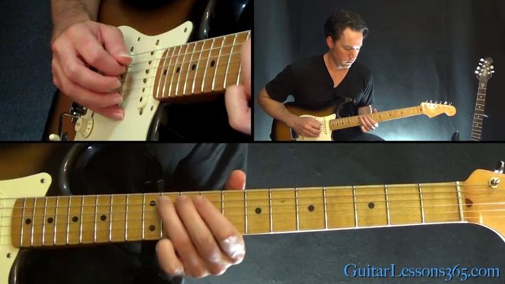 Lenny Guitar Lesson (Part 1) - Stevie Ray Vaughan