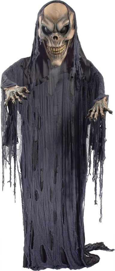 Halloween decor n more hanging skeleton prop 12 ft for Decor n more