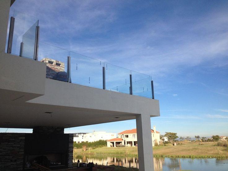 barandas de acero y vidrio - Herreria de Vanguardia Venta de Escaleras y Barandas - Novo Design