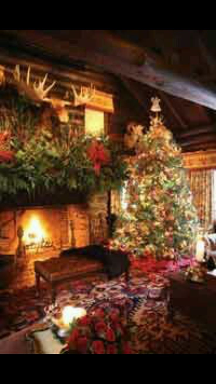 41 best rustic christmas living rooms images on pinterest rustic