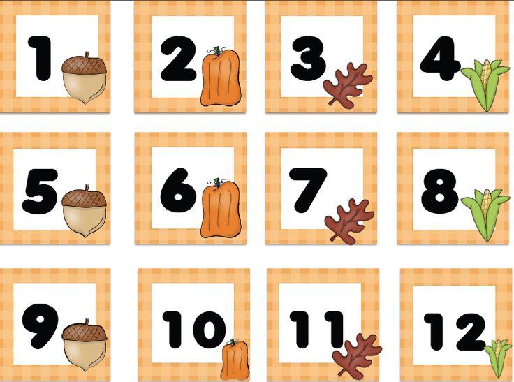 FREE fall numbers