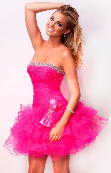 25  best ideas about Hot pink dresses on Pinterest | Boyfriend ...
