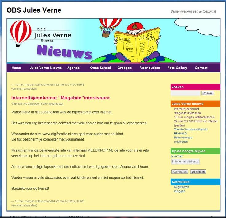 Mooie Feedback van de OBS Jules Verne in Utrecht. Dank jullie, ik heb het met veel plezier gedaan!