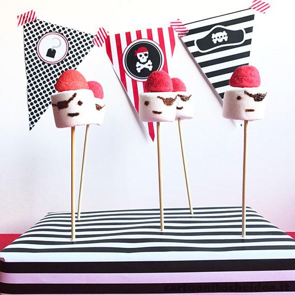 Quando la ciurma dei pirati deve festeggiare, lo fa con stile! Ecco dei dolci perfetti per essere presentati a una festa in maschera! - See more at: http://cartoonitocheidea.it/scheda.php?idProgetto=540  #CartoonitoCheIdea #Cartoonito #Kids #Bambini #Festa #Party #Carnevale #Carnival #Pirati #Pirates #Pirate #PartyKit #Candy #food #cibo #snack