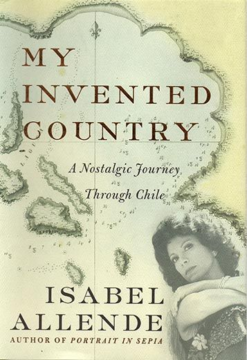 Purchasing this book brought me together with Isabel-my April was heading off to Chile and I needed to talk with THE expert-Isabel!