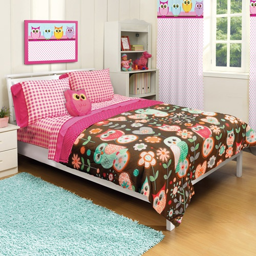 American Kids Owl Twin Full Microfiber Bedding Comforter