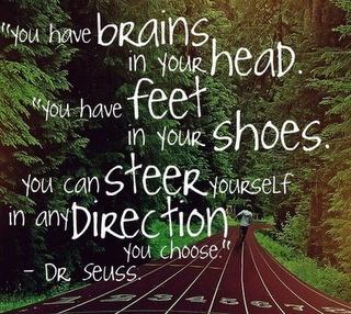 Brains: Sayings, Inspiration, Quotes, Motivation, Drseuss, Dr. Seuss, Running, Dr Seuss
