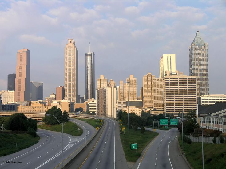 Atlanta skyline in Georgia, United States of America