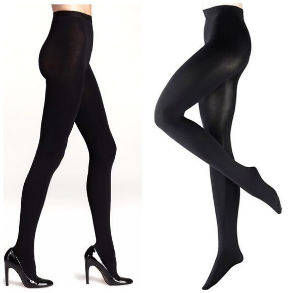 Black Opaque Tights Full length, reinforced toe, black opaque tights. Size L/XL.  Came in a double pack, I only wore one pair, (don't fit me the best) so I'm selling the other pair.  NO TRADES Jones New York Accessories Hosiery & Socks