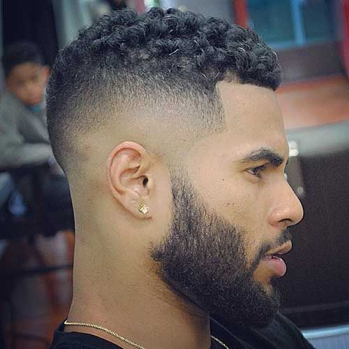 15 Kinds of Fade Haircuts for Black Males | Men Hairstyles