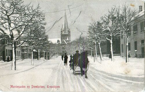 Trondheim, Norway in circa 1888