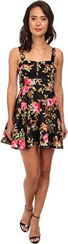Gabriella Rocha Womens Arabesque Party Dress Black Rose Floral Dress SM *** Click on the image for additional details.