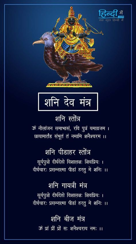 Shani Aarti In Hindi Pdf