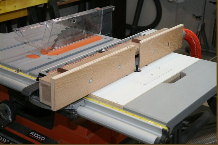 Ridgid R4510 Table Saw Router Insert Idea From Workshop