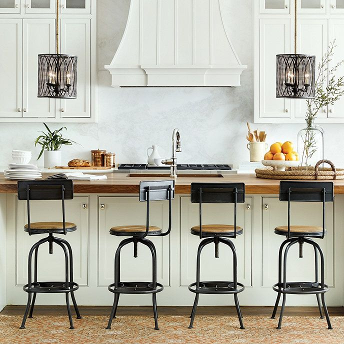 Classic Barstools Enhance This Traditional Kitchen: Best 25+ Counter Stools With Backs Ideas On Pinterest
