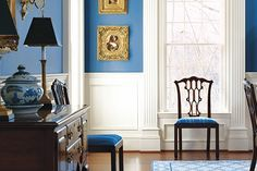 Cool & Relaxing Entryway Paint Colors from PPG Pittsburgh Paints.