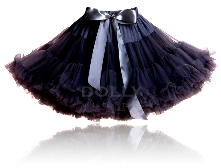 the new 'little black skirt'.  Wholesale pettiskirts collection from DOLLY by Le Petit Tom ® www.lepetittom.nl