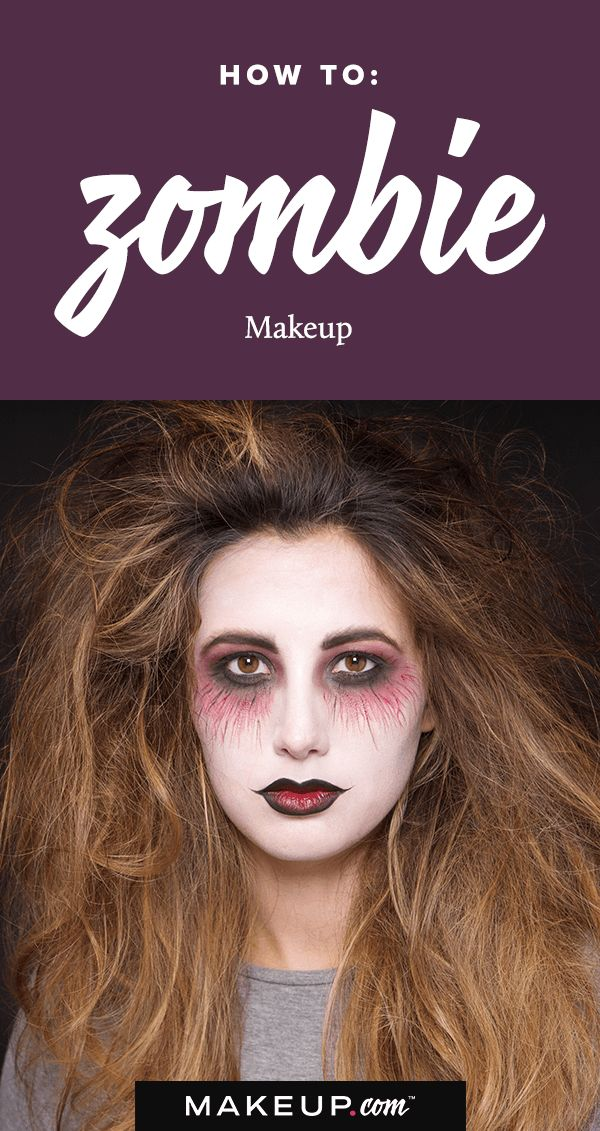 Halloween is right around the corner! While it may by the spookiest day of the year, it's also a time for you to show just how creative you can be. Try this simple, pretty zombie look and scare up stares all night long.